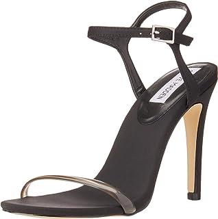 a956079ff72 Steve Madden Womens Denise Open Toe Casual Slide Sandals  Amazon.co ...