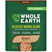 Whole Earth Allulose Baking Blend Brown Sugar Substitute, 12 Ounce Bag