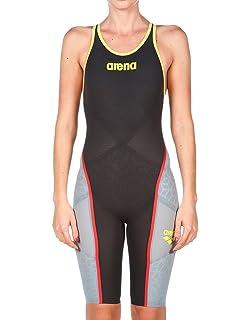 7c35fa1a9a66a Arena Powerskin Carbon Ultra Full Body Short Leg Open Back: Amazon ...