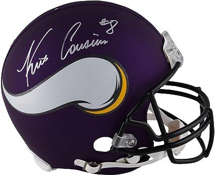 00b0b7eeb Kirk Cousins Minnesota Vikings Autographed Riddell Pro-Line Helmet - Fanatics  Authentic Certified - Autographed