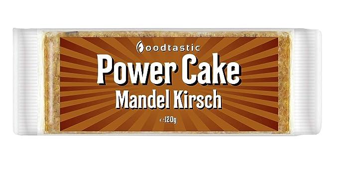 Caja de pasteles energéticos Power Cake de Foodtastic (30 x ...