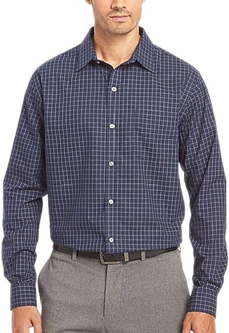 Nanquan Men Button Up Long Sleeve Pockets Casual Denim Western Shirt