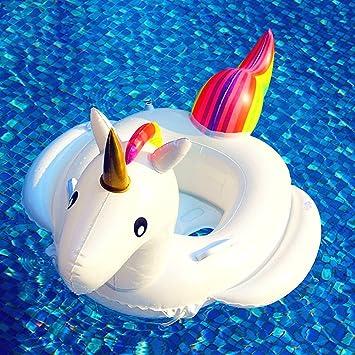 Inflable De Unicornio Flotador 1-6 años Adecuada Para el Bebé Hinchable by Kenneth Twinkling: Amazon.es: Juguetes y juegos