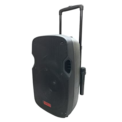 Amazon com: Battery Powered Portable PA System with 2