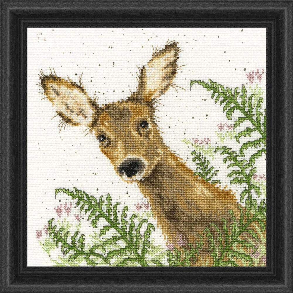 Bothy Threads Doe A Deer Counted Cross-Stitch Kit by Bothy Threads