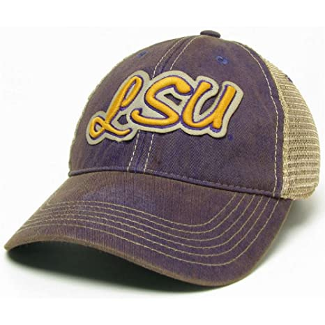 Image Unavailable. Image not available for. Color  Legacy LSU Tigers  Trucker Hat ... 8f62427716ff