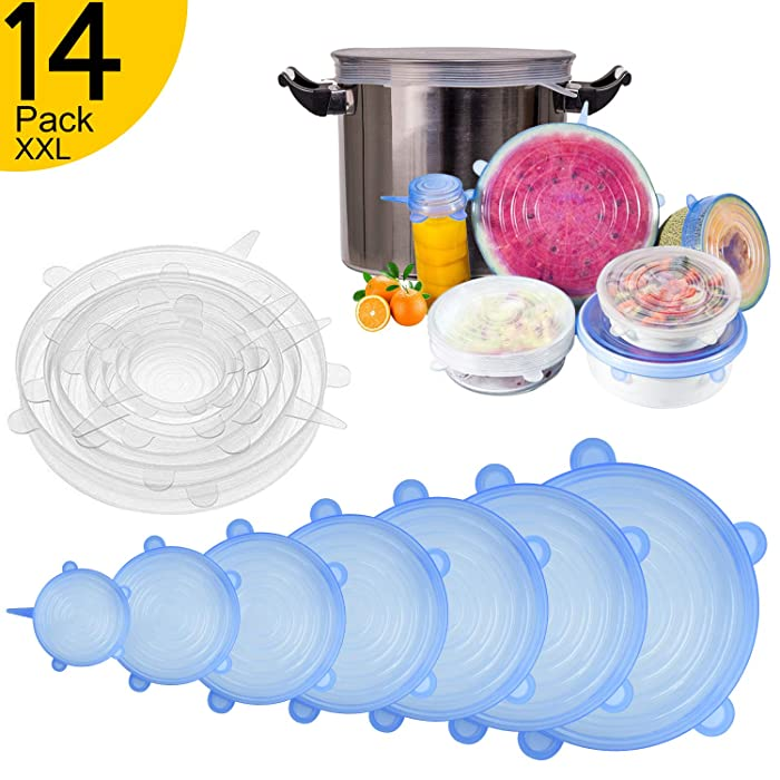 Top 10 Stretchable Food Saving Silicone