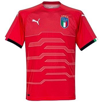 b728beb40 Puma Italy Away GK Shirt 2018 2019: Amazon.co.uk: Sports & Outdoors