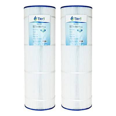 Tier1 Hayward CX1750RE, C1900RE, StarClear Plus C8417, Filbur FC-1294, Pleatco PA175, Waterway Pro Clean 175 Comparable Replacement Pool Filter Cartridge (2-Pack): Kitchen & Dining