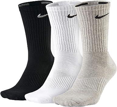 Misterioso termómetro dinosaurio  Amazon.com: Nike Performance - Calcetines de entrenamiento (3 pares), L:  Clothing