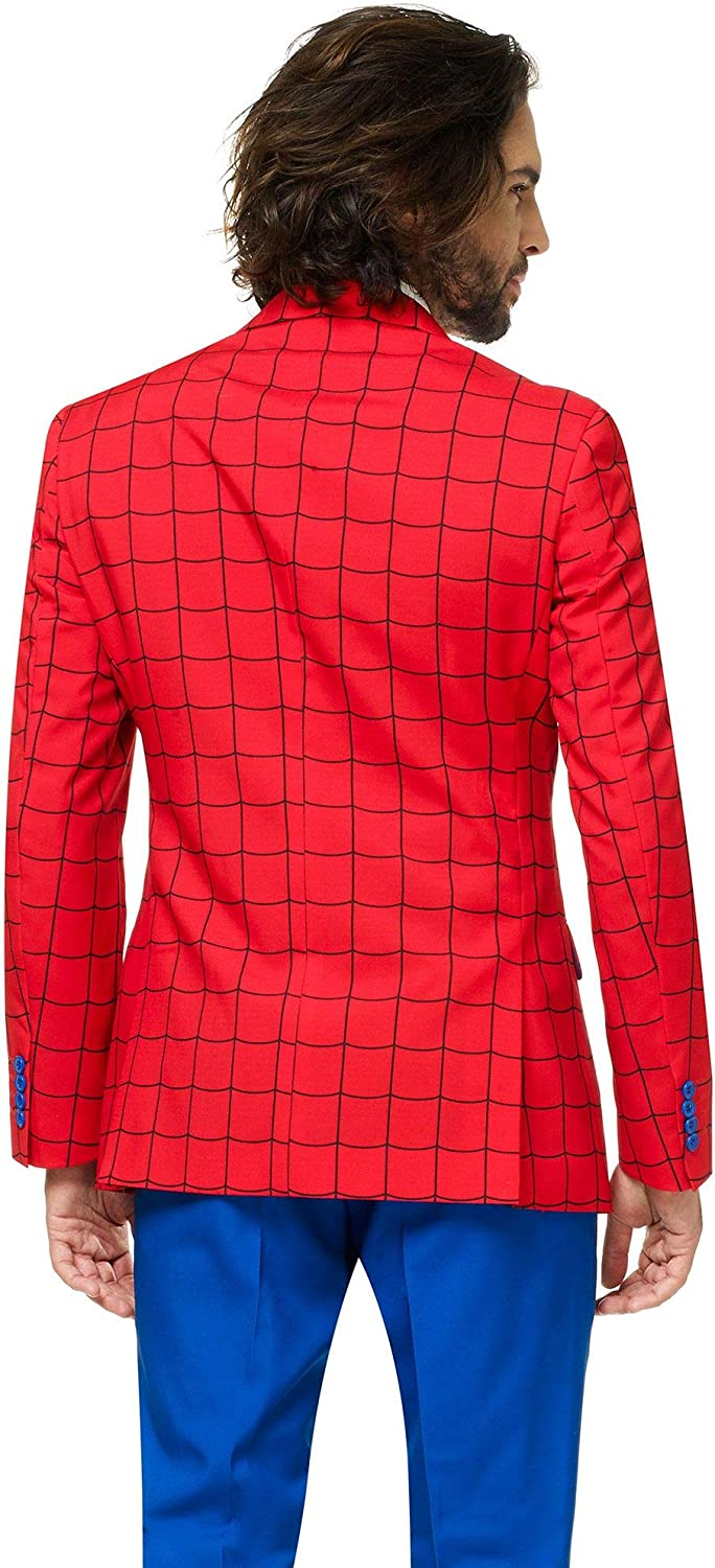 Infinity War Avengers Costume Comes with Pants Jacket and Tie OppoSuits Official Marvel Comics Hero Suits