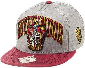 8b0fe9ed356be Amazon.com: Harry Potter Snapback Hat House Crest Adjustable Caps ...