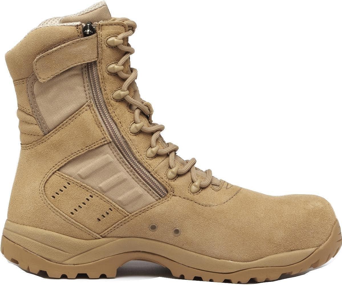 4.5W Tactical Research Belleville TR336 Guardian Zip Lightweight Desert Tan Composite Toe Boot
