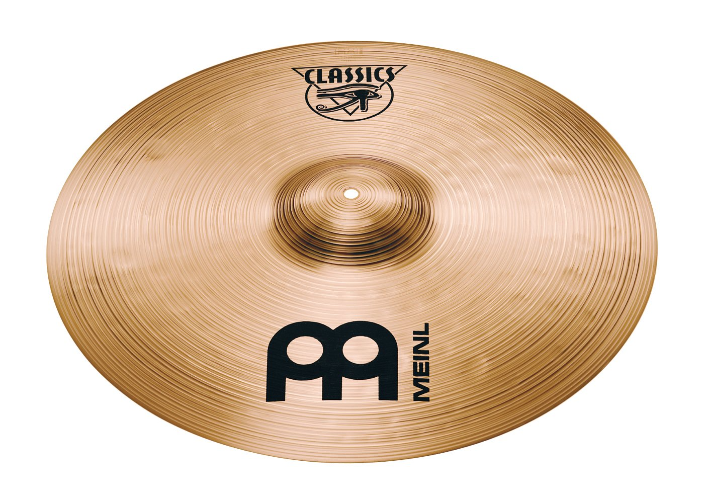 Meinl 22'' Medium Ride Cymbal - Classics Traditional - Made in Germany, 2-YEAR WARRANTY (C22MR) by Meinl Cymbals