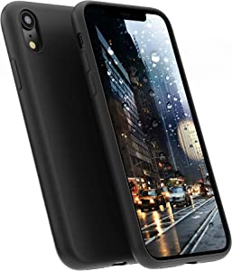 A BETTER MINIMALIST CASE for iPhone XR, Moduro Ultra Thin [1.5mm] Slim Fit Flexible Soft TPU Case for iPhone XR (Matte Black)