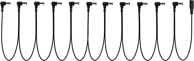 Blue Godlyke Power-All C-BL Electric Guitar Cable Phone Plug Jumper
