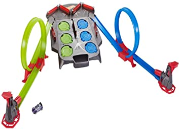 e897b224eb7 Image Unavailable. Image not available for. Colour  Hot Wheels FDF27  Rebound Raceway Connectable Loops Track ...