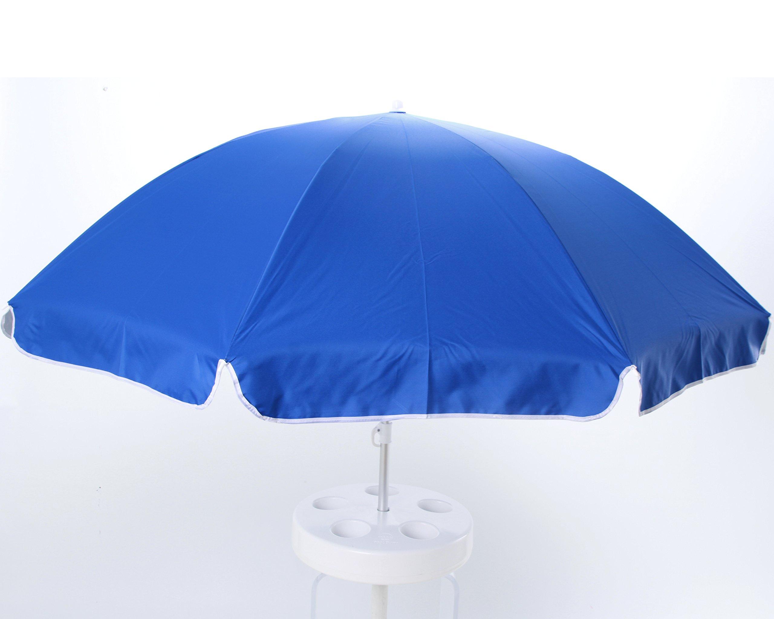 Pool Buoy Original Floating Umbrella and Buoy - Atlantic Blue
