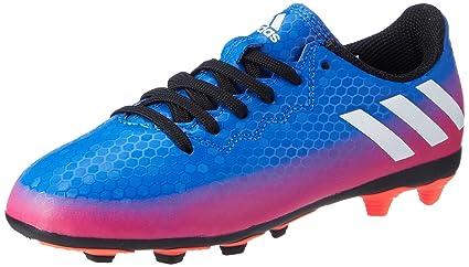 d2c4dc502cf8 adidas Messi 16.4 FxG Football Boots - Youth - Blue Footwear White Solar  Orange