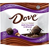 DOVE PROMISES Almond Dark Chocolate Candy 7.61-Ounce Bag (Pack of 8)