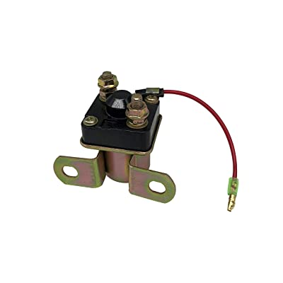 SHUmandala Starter Solenoid Relay for POLARIS SPORTSMAN 500 600 1996-2004/SPORTSMAN 400L 4X4 1993-1997/TRAIL BOSS 250 325 1985-2002/TRAIL BLAZER 250/XPLORER 400 1996-2002/MAGNUM 325 425 500 1995-2002: Automotive