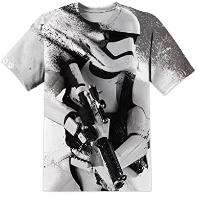 Mens Star Wars First Order Stormtrooper All Over Printed T Shirt (S-2XL) 520caab9d1a7e