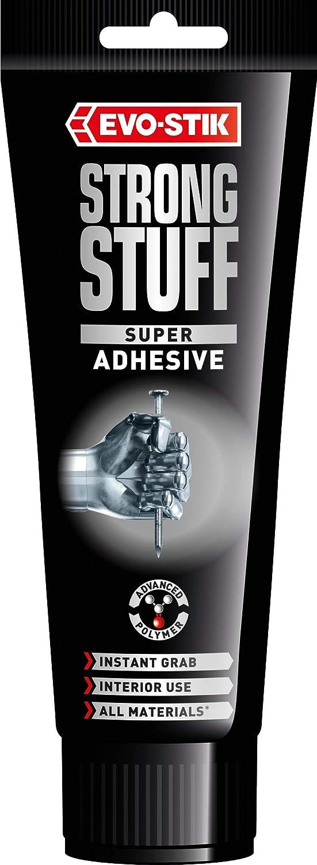 Evo-Stik 30813037 200 ml Strong Stuff Adhesive Squeeze Tube - White