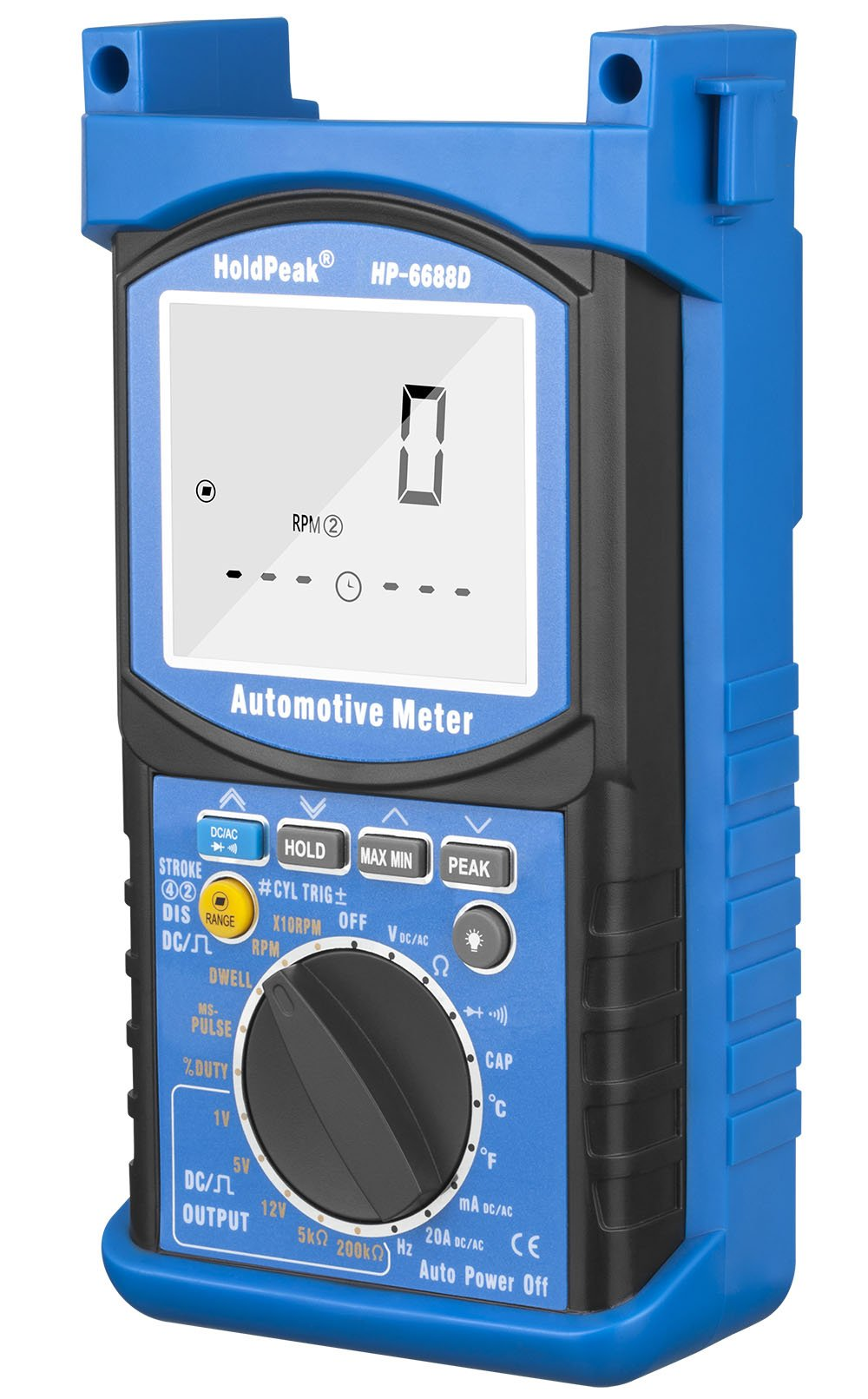 30% OFF HOLDPEAK 6688D Digital Insulation Resistance Tester Measures Voltage And Insulation Resistance With Data Hold And Backlight For Electronics, Chemicals Etc.