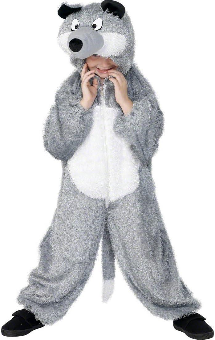 NET TOYS Traje de Lobo para niño Disfraz Infantil Vestuario Cuento ...