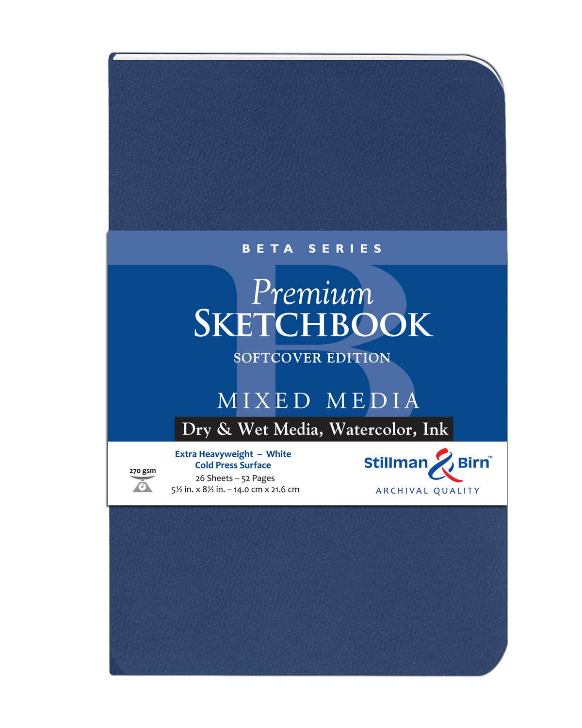 Beta Softcover Sketchbook 5.5X8.5 MACPHERSON 301580P