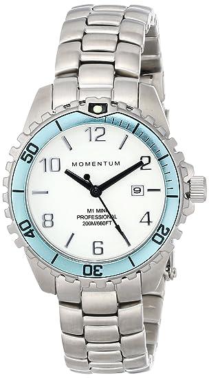Momentum 1M-DV07WA0 - Reloj de cuarzo para mujer, con correa de acero inoxidable