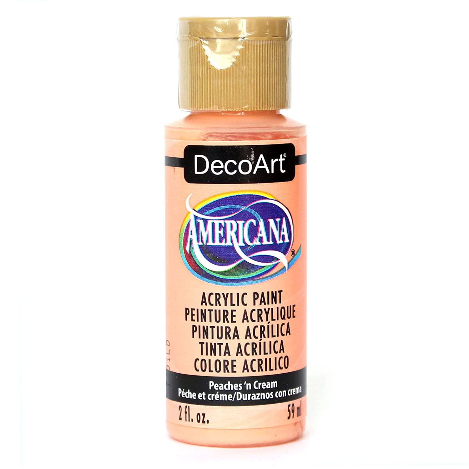 Deco Art Americana 2 oz Acrylic Multi-Purpose Paint, Peach DecoArt DAO23-3