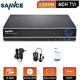 SANNCE 4CH 1080N DVR HDMI H.264 CCTV Enregistreur Vidéo Numérique Digital Video Recorder Système de Sécurité Détection de Mouvement Souveiller par Ordinateur ou Smartphone