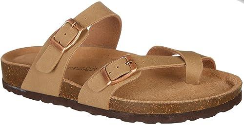 5d02329620ef Dept 222 Womens Luna Casual Sandals 6.5 Taupe