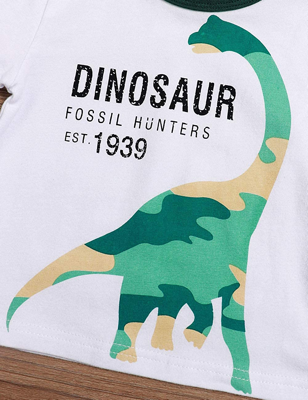 Dinosaur Pant 2Pcs Outfits Set Toddler Baby Boy Clothes Summer Short Sleeve T-Shirt