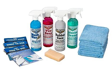 Amazon Com Aero Cosmetics Complete Car Care Kit Wash Wax