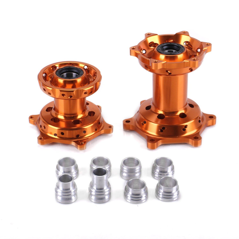 ANUESN Front & Rear Wheel Rim Hubs KTM SX SXF XC 125 250 300 350 450 520 525 530