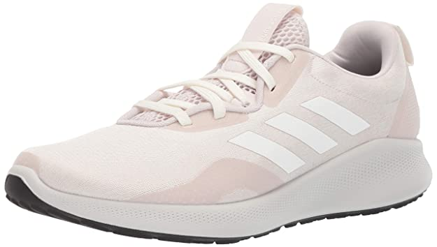 adidas Women's Purebounc+, Orchid Tint/Cloud White/True Pink, 10 M US