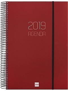 Miquelrius 25324 - Agenda anual día página - Catalán: Amazon ...