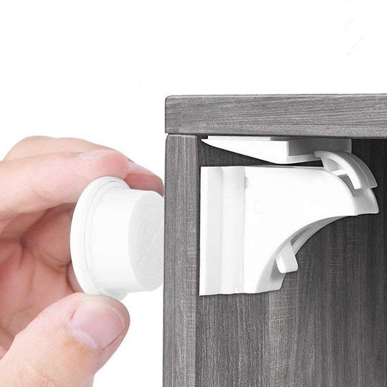 BALFER® Cerraduras Invisible Magnéticas de Seguridad para Niños ...