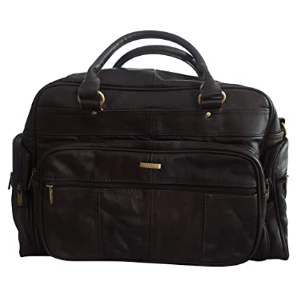 MENS LEATHER HOLDALL LUXURY TRAVEL BAG GYM SPORTS BAG LADIES FLIGHT BAG  CABIN BAG WEEKEND BAG d61054874a