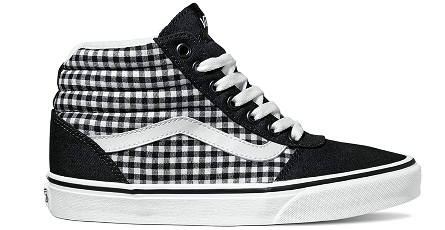 37163633d6 Vans Women  s Ward Canvas Hi-Top Trainers