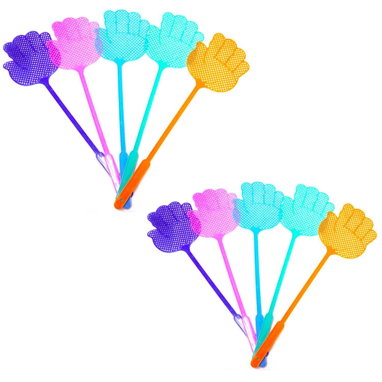10 pc - Best1Deals - Set Durable Flexible Pest Control Plastic Fly Swatter Mosquito Bug