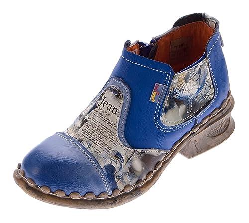 Tma - Chaussures À Lacets En Cuir Femmes, Vert, Taille 36