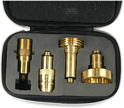 Drehmeister Set de Adaptadores para GLP M10 Largo - Adaptador de ...