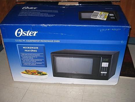 Amazon.com: Oster ogm41102 1.1 Cubo Horno de microondas ...