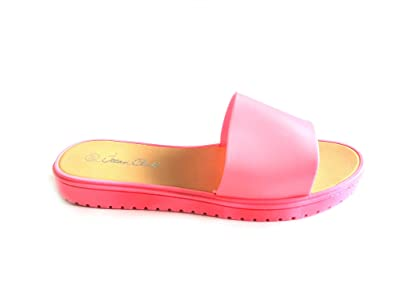 24d03685e32 Primark Ladies Womens Girls Summer Beach Jellies Retro Jelly Flip Flops  Shoes Size UK 3-