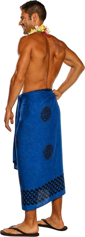 Amazon.com: 1 World Sarongs - Pareo celta para hombre, talla ...