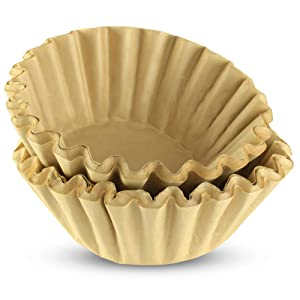 12 Cup Commercial Basket Coffee Filters (Natural Unbleached, 500)