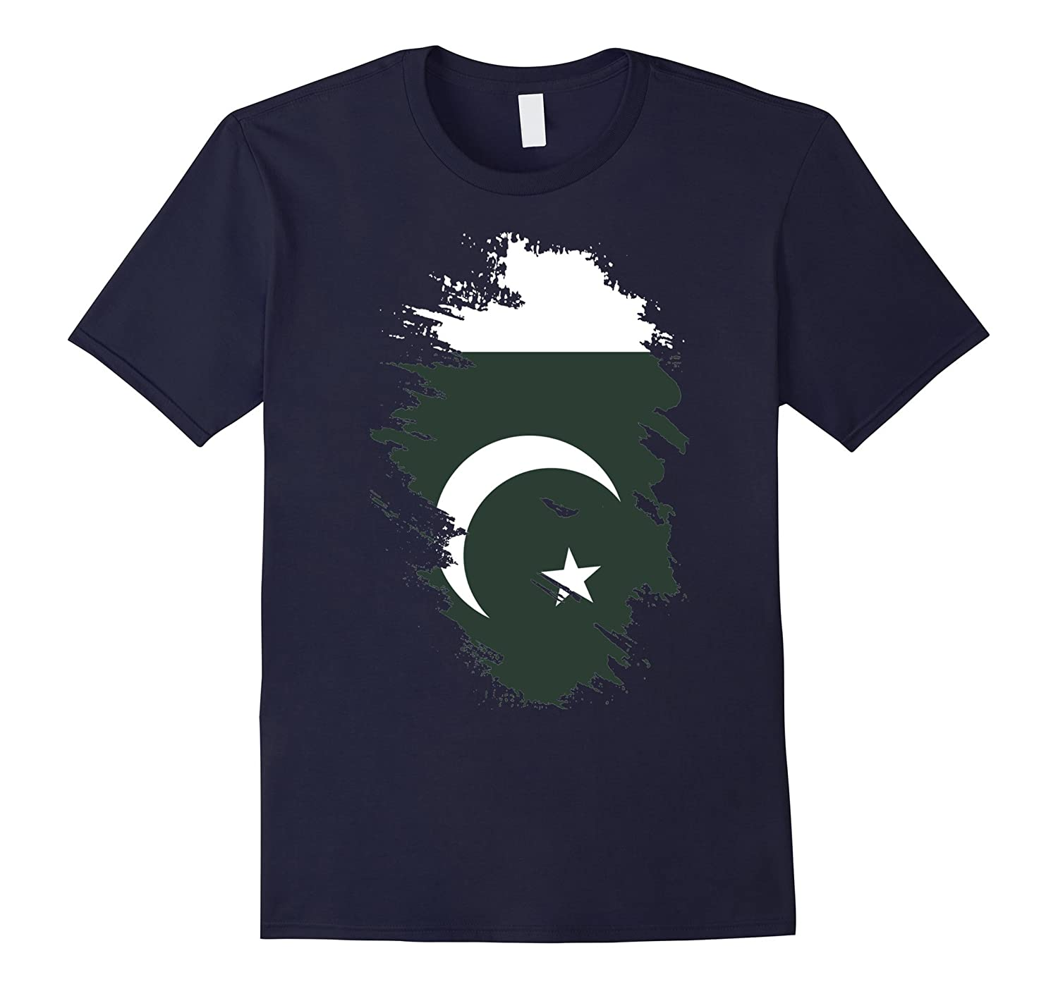 Flag of Pakistan T Shirt National Pakistani tee-TH